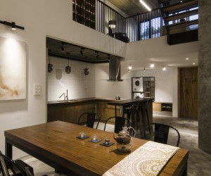 House Designed for a Young Family Located in Hanoi, Vietnam
