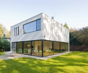 House G in Schoten by Nelva Architecten