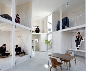 House in Kashiwa by Yamazaki Kentaro Design