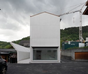 House in Laax by Valerio Olgiati