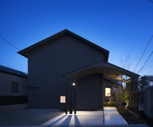 House in Moriyama by Den Nen Architecture