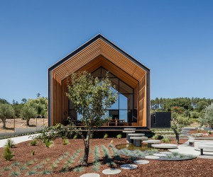 House in Ourm by Filipe Saraiva, Portugal