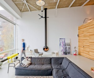 House Like Village  Old Harbor Cantina Transformed into Loft Apartments