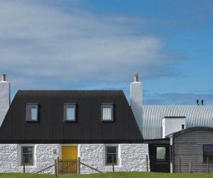 House nr 7 inspired by traditional Scottish homes