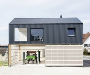 House Unimog by Fabian Evers  Wezel Architektur