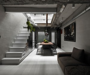 House W in Taipei by KC design studio