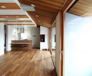 House with Added Veranda by Hiroki Tominaga