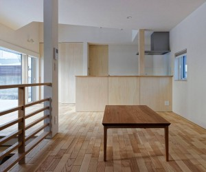 House with Connecting Steps by Yosuke Tomiya Architectural Design