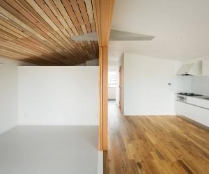 House with Funazoko Ceiling by Hiroki Tominaga
