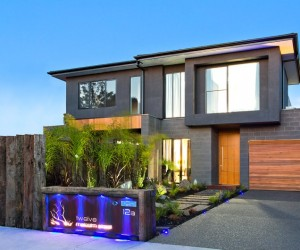 House with splendid stylistic conception in Melbourne