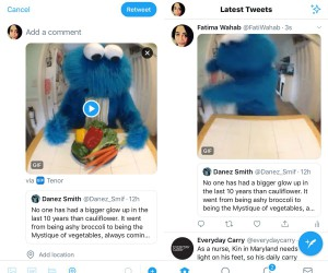 How to add photos and GIFs to retweets on Twitter