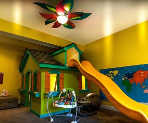 How to Add Yellow to the Eclectic Kids Bedroom in Cheerful Style