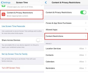 How to block websites on iOS