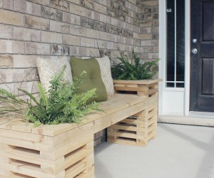 How to build a bench with these free DIY woodworking plans