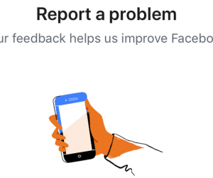 How to disable shake to report problem in Facebook apps