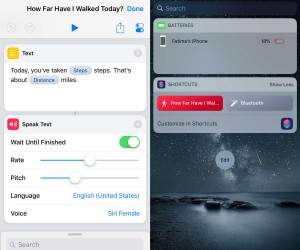 How to get your daily step count on iOS Siri Shortcut
