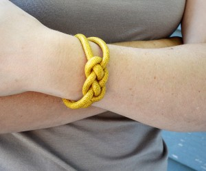 How To Make Knotted Rope Bracelets
