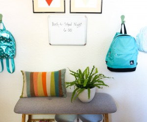 How to Organize a Family Entryway