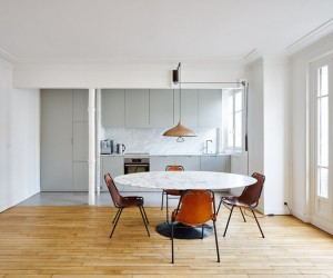 Hubert Apartment in Paris by Septembre Architecture