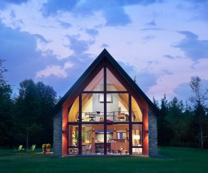 Hudson Passive House by Dennis Wedlick Architect