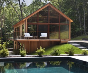 Hudson Woods; A Modern Cabin Home in Upstate New York