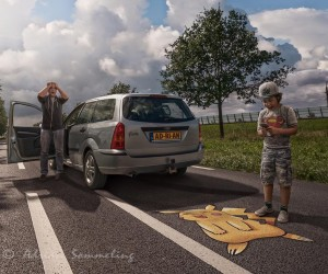 Hyperrealistic Composites and Digital Manipulations by Adrian Sommeling