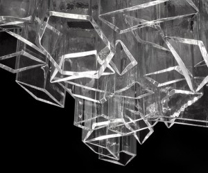 Ice Chandelier by Daniel Libeskind for Lasvit