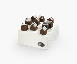 Ice Cream Cake Village by Nendo for Hagen-Dazs