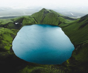 Iceland From Above: Stunning Aerial Photography by Gabor Nagy