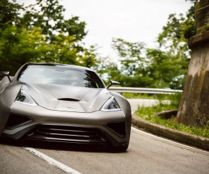 Icona Vulcano Is The Worlds First Titanium Supercar