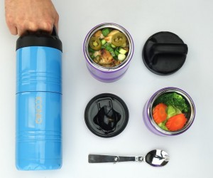 Iconiq Qore: Stackable Insulated Food Container