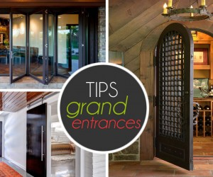 Ideas To Help You Make A Grand Entrance