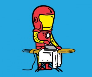 If Superheroes Worked Part Time Jobs
