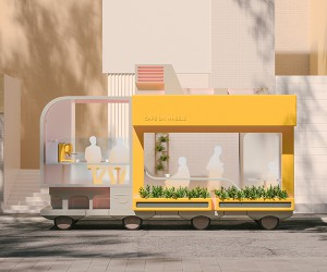 IKEAs SPACE10 Reveals Self-driving Cars