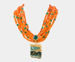 Il Carato Captures Italian Sunset in Handcrafted Necklace