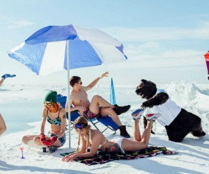 Im Siberian: Fabulous White Beaches of Siberia by Alexey Lovtsov