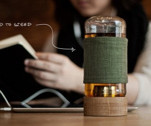 Imbue: Magnetic Tea Infusing Vessel
