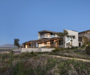 Imposing Retirement Retreat in the Mountains of the Western Cape, Overberg, in South Africa
