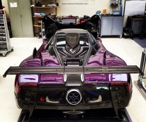 Impressive One-Off Pagani Zonda Zozo Revealed