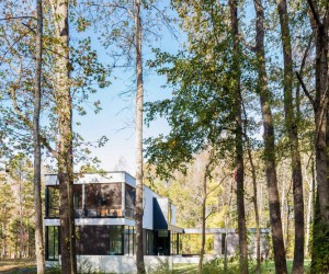 In Situ Studio Designed this Wonderful Home in North Carolina, USA