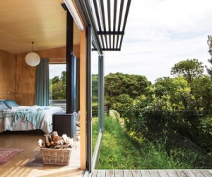 In step with nature: private retreat, New Zealand