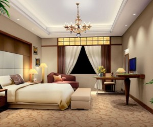 In sync with your modern master bedroom