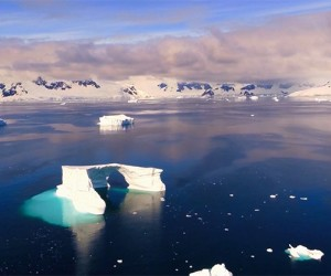 Incredible Aerial Footage of Antarctica