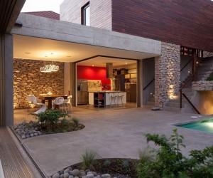 Indoor-Outdoor Home Design: Multi-Level Garden House in El Salvador