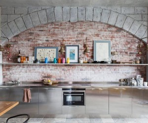 Industrial and bohemian design in Moscow