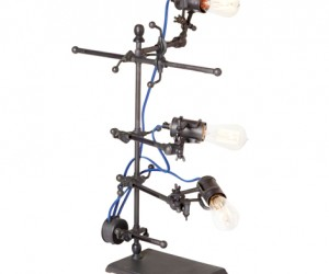Industrial Clip Table Lamp at HudsonGoods.com