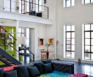 Industrial Duplex Loft Conversion in Chelsea, New York