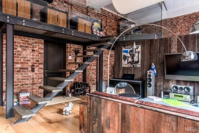 Industrial Interior Design Loft In Moscow