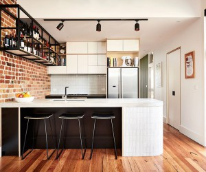 Industrial Kitchen and Versatile Family Room Redefine the Northcote Home