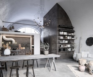 Industrial Loft design by Serhii Seinov